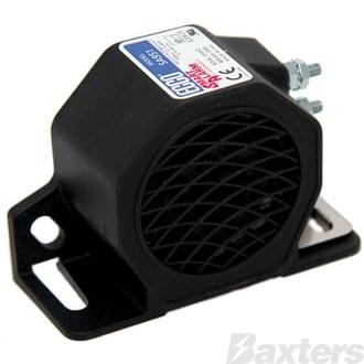 ECCO Backup Alarm 12-48V Self Adjusting 77-97DB
