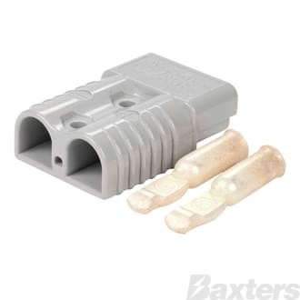 Genuine Anderson Power Products 175A Grey Connector with 1/0AWG Contacts