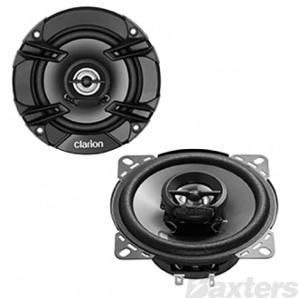 Clarion 10 CM (4 inch) 2 Way Coaxial Speakers 200W Max Pair