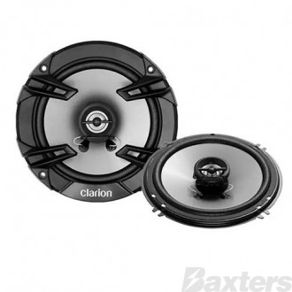 Clarion 16CM (6-1/2 inch) 2 Way Coaxial Speakers 300W Max Sold As A Pair