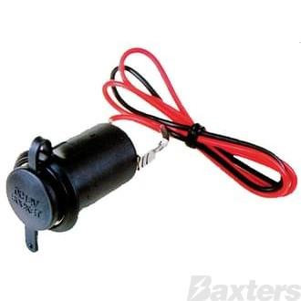 Lighter Socket 10Amp 12V With Dust Cover