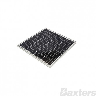 Redarc 80W Mono Solar Panel Anodised Aluminium Frame, Robust tempered glass coating