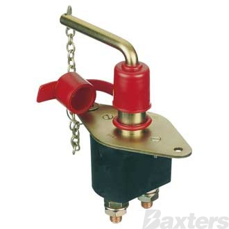 On/Off Battery Master Switch With Removable Key And Dust Cover. Rated 2500Amp (Int) And 250Amp (Cont) **Can Use SW-1106L **