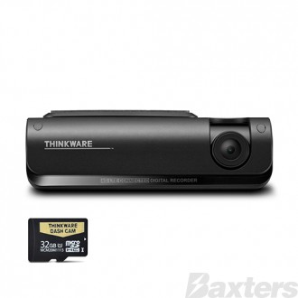 Thinkware 4G LTE Connected 1080P Full HD Dash Cam-32GB Connects to Smartphone