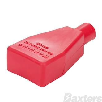 Battery Terminal & Lug Protectors Red 2 B&S Straight