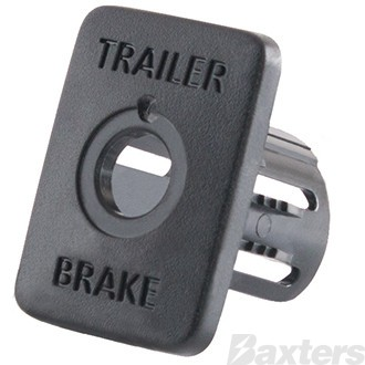 Tow-Pro Switch Insert to Suit Toyota Hilux and Mitsubishi Triton. Pack of 10