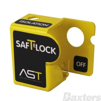 Battery Master Lock Out Device Yellow