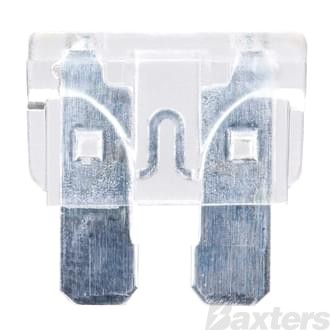 Fuse Blade 25A Clear Pack Of 10