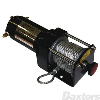 Winch Motor kit 12V Reversible 1587kg (3500 pound) 12.8 metre winch cable.