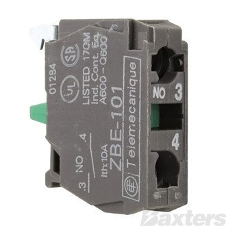 Switch Contact N/O Green Suits XB5AS542