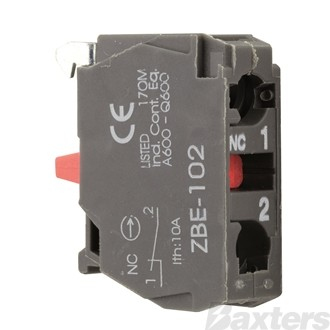 Switch Contact N/C Red Suits XB5AS542